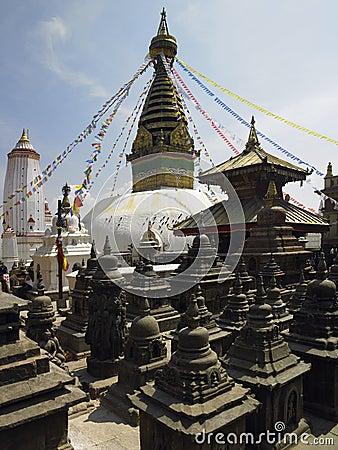 Nepal - Kathmandu - Swayambhunath Stupa