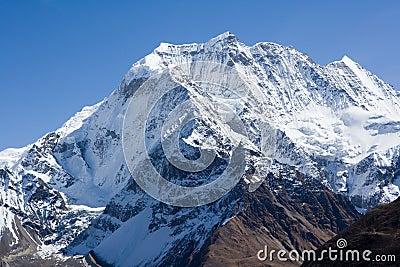 Nepal. Mountain Manaslu vicinities.