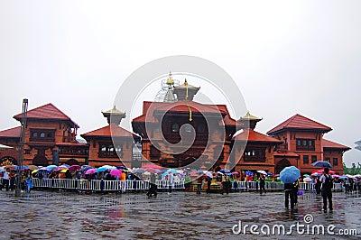 Nepal Pavilion  in Expo2010 Shanghai China Editorial Photo