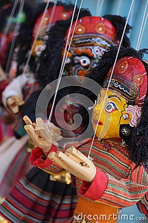 Free Nepal Puppets Royalty Free Stock Image - 11854966