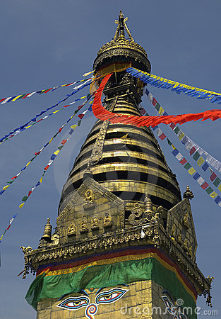 Nepal - Swayambhunath Stupa - Kathmandu