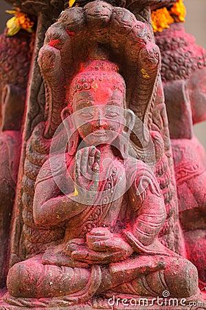 Nepalese buddha sculpture