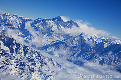 Nepalese High Mountain Scenery
