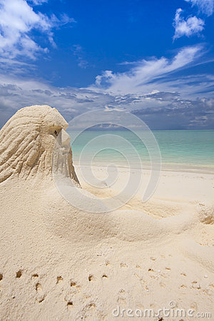 Neptun at the beach