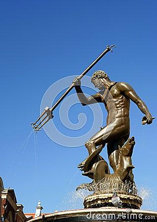 Neptun sculpture in Gdansk - Fountain