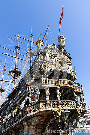 Neptune galleon