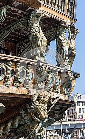 Neptune galleon