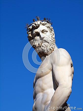 Free Neptune - Greek God Statue Stock Photo - 11693280
