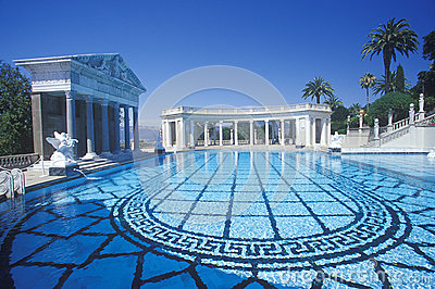 The Neptune pool Editorial Stock Photo