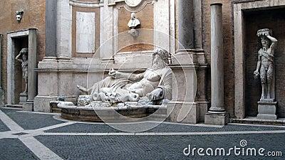 Neptune Statue Capitoline Museum Rome