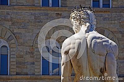 Neptune statue Florence