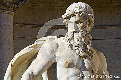 Neptune statue in Rome