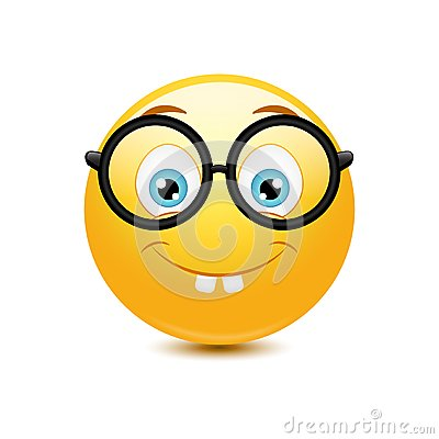 Free Nerd Emoticon Stock Photos - 38348373