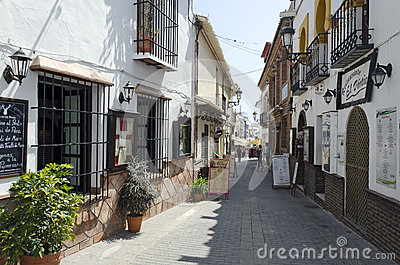 NERJA Editorial Stock Image