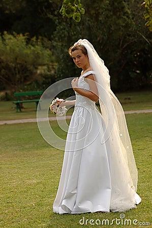 Nervous bride