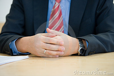 Nervous interview