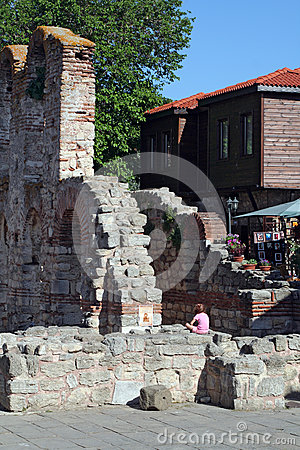 Nesebar, Bulgaria Editorial Photography
