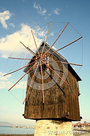 Nesebar windmill