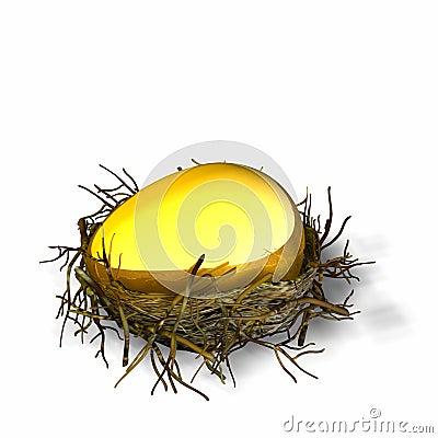 Free Nest Egg 1 Stock Photography - 485642