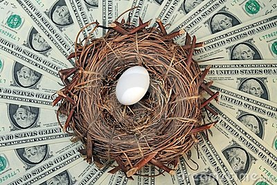Nest Egg and Money