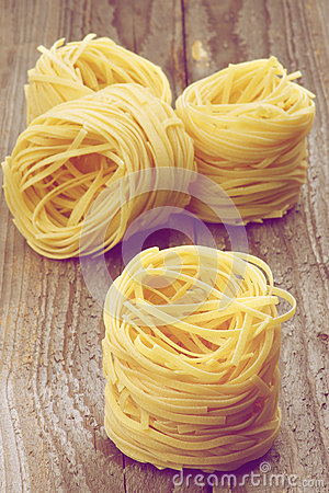 Nests of Raw Vermicelli