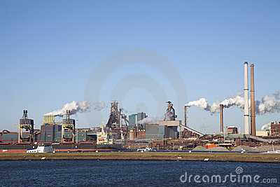THE NETHERLANDS, IJMUIDEN - 16 JANUARY 2011 Editorial Photography