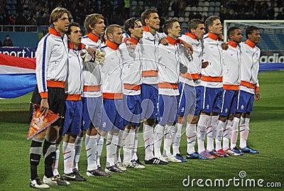 Netherlands (Under-21) National team Editorial Image