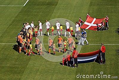 Netherlands vs Denmark - FIFA WC Editorial Photography