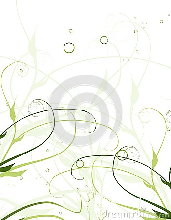 Netter Blumenhintergrund