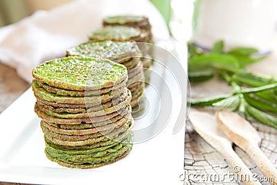 Nettles pancakes