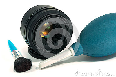 Nettoyage d objectif de caméra