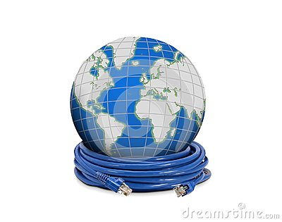 Network cable and globe
