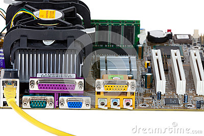 Network cable and Mainboard
