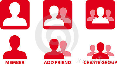 Network Community Vector Icons