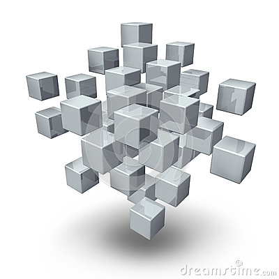 Network Connection Cubes