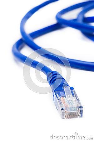 Network connection plug RJ-45