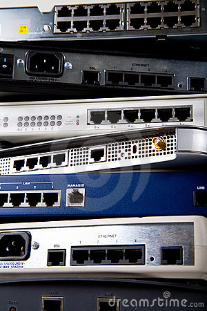 Free Network Devices Stock Image - 613811