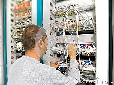 Network engineer solves a communication problem