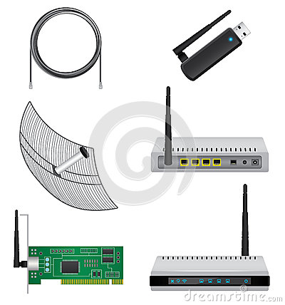 Network hardware set