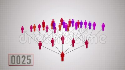 Network marketing, duplication principle. Building a distribution network in the business of network marketing