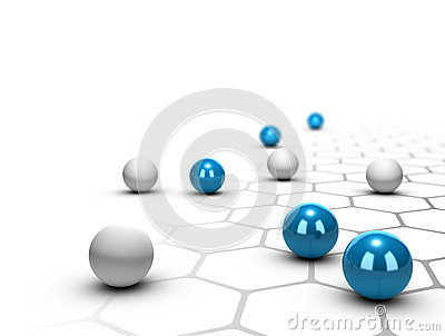 Network, Networking and Connection Concept