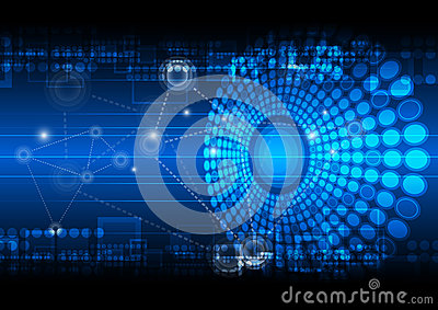 network technology background royalty free stock