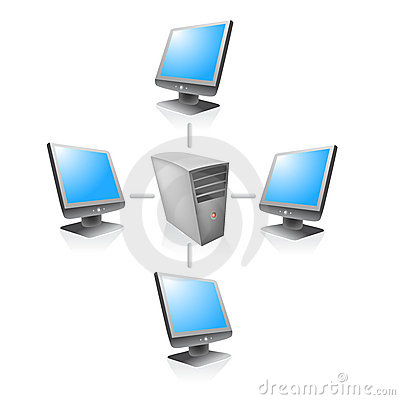 Free Network Web Server Vector Stock Images - 7058734