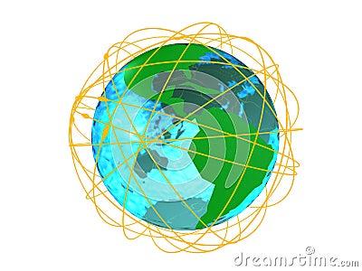 Networks around globe