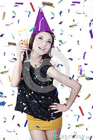 Neues Jahr-Feier
