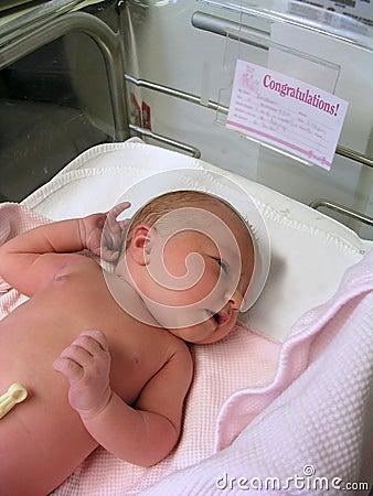 Neugeborenes Schätzchen