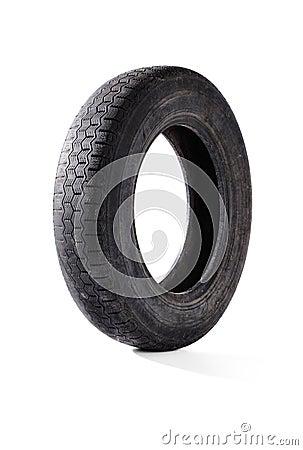 Neumático viejo