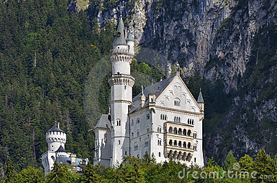 Neuschwanstein, Bavaria Editorial Photo