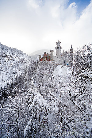 Free Neuschwanstein Castle Royalty Free Stock Images - 18208859