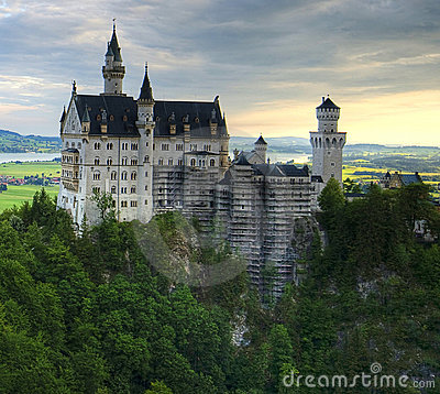 Free Neuschwanstein Castle Stock Photography - 8562972